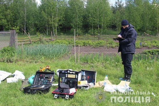 На місці розстрілу АТОвців у Житомирській області поліція виявила 5 одиниць зброї