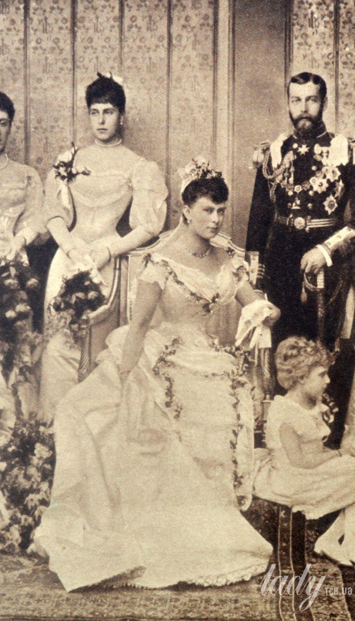 Марія Текська і король Георг V, весілля