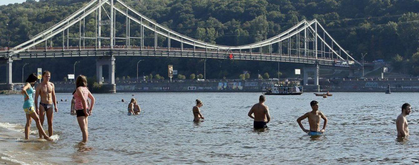 Кличко разрешил купаться на 12 столичных пляжах