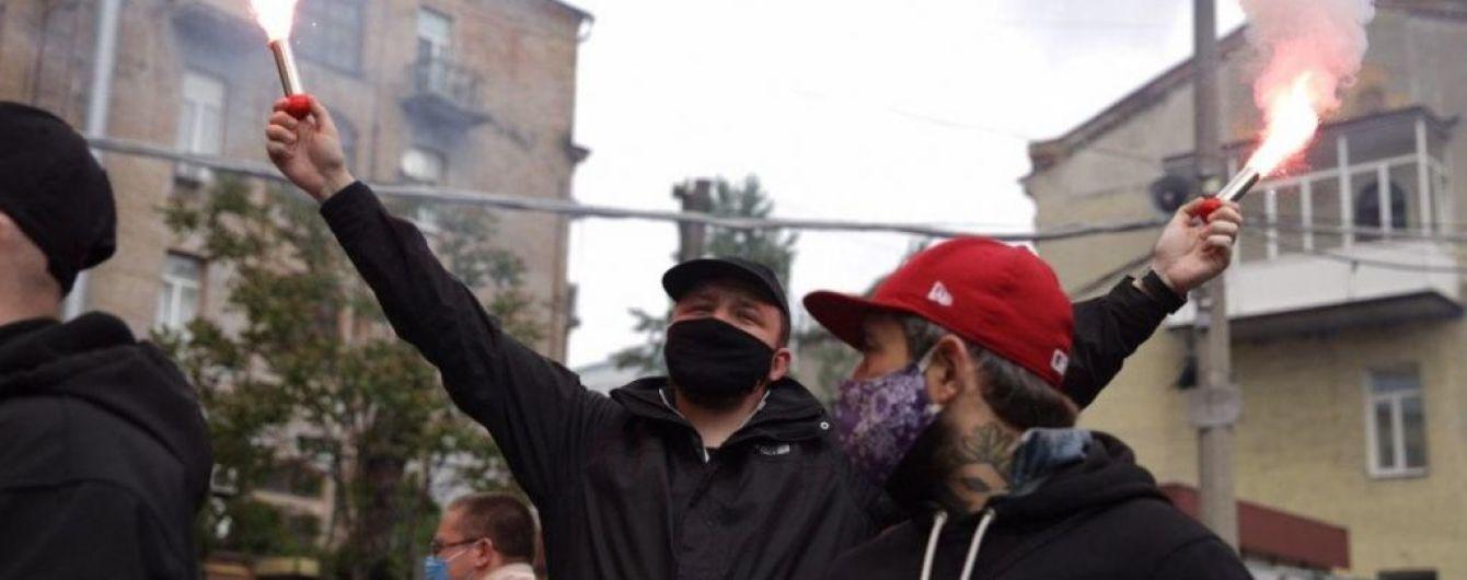 """""""Взрыв"""" под офисом ОПЗЖ: все подробности об акции протеста"""