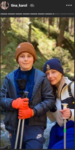 Тіна Кароль з сином_1