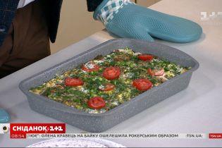 Єгор Гордєєв приготував смачну і бюджетну овочеву запіканку в прямому ефірі
