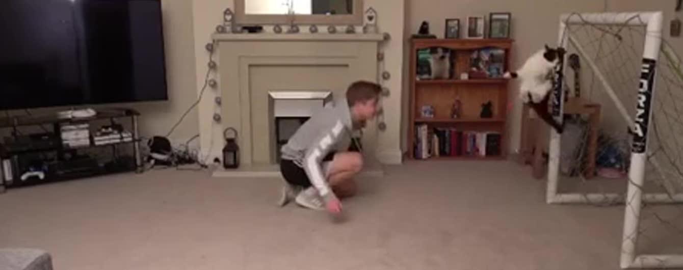Надурив увесь світ: відео з котом-воротарем Мяунуелем Ноєром виявилося фейком