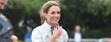 Какие ножки: герцогиня Кембриджская в шортах