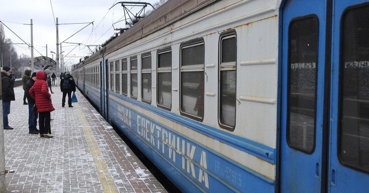 В Киеве городская электричка запустила новые маршруты