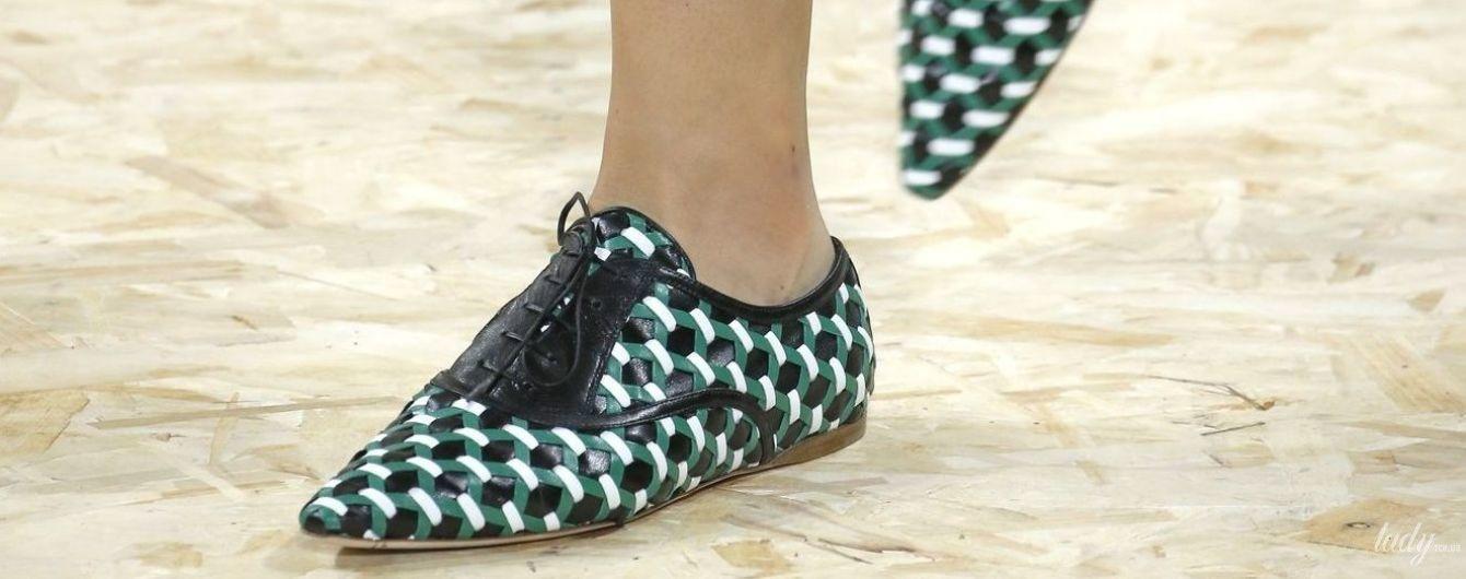 Летняя тенденция: плетеная обувь