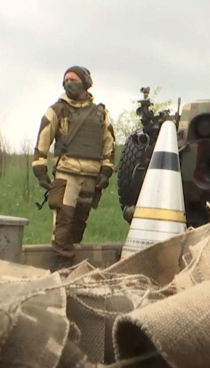 """Желто-голубая символика в ОРДЛО: батальон """"Донбасс"""" отстрелял в сторону Горловки тысячи листовок"""