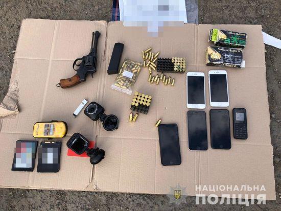 У Нацполіції показали відео затримання групи кілерів в Одесі