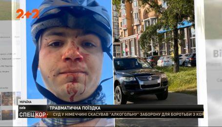 Полиция разыскивает мужчину, который накануне избил владельца велосипеда