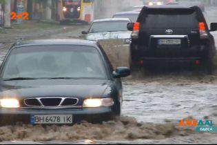 Сливоотходы в Одессе не рассчитаны на большое количество осадков – коммунальщики