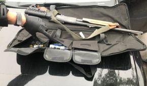 Озброєні до зубів: поліція показала, що вилучила у стрільців у Броварах