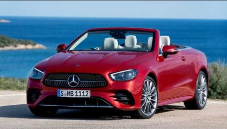 Mercedes-Benz офіційно представив кабріолет та купе E-Class
