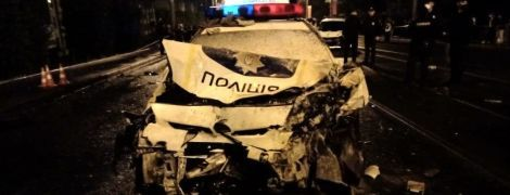 У Харкові поліцейський на DaewooLanos на швидкості протаранив патрульний Prius, є загиблі