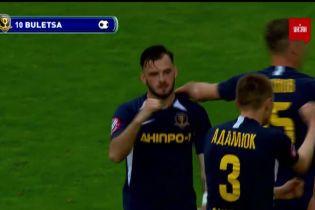 Дніпро-1 – Олімпік – 1:0. Відео голу Булеци