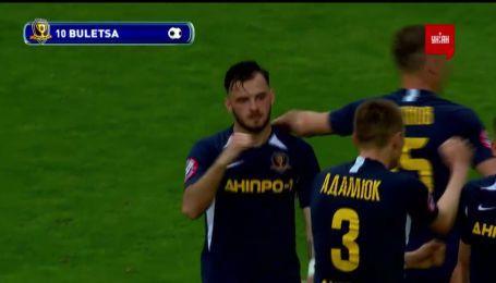 Днепр-1 – Олимпик - 1:0. Видео гола Булецы
