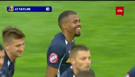 Дніпро-1 – Олімпік – 3:0. Відео голу Тейлора