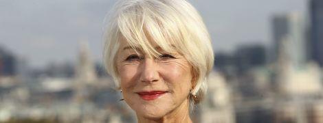 74-летняя Хелен Миррен прокомментировала статус секс-символа