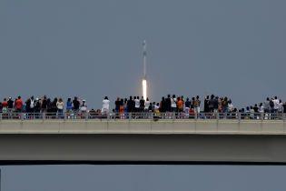 У Роскосмосі визнали успіх американців у самостійному польоті астронавтів на космічному кораблі SpaceX