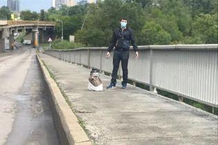 """""""Мінеру"""" мосту Метро у Києві оголосили підозру: йому загрожує до 7 років ув'язнення"""