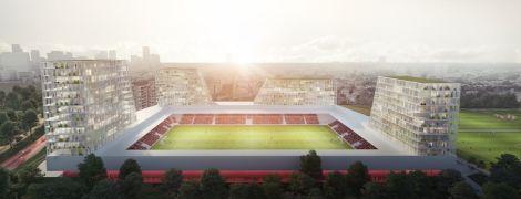 Стадіон з апартаментами: нідерландський футбольний клуб затіяв будівництво ультрасучасної арени