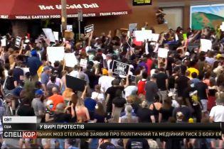 Попри комендантські години, у Америці 6 день поспіль продовжуються вуличні протести