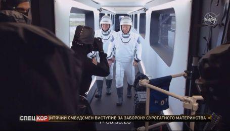 Американські астронавти успішно зайшли на облавок Міжнародної космічної станції