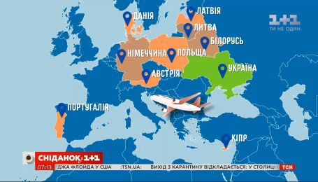 Куда полетят самолеты из Киева после карантина — Экономические новости