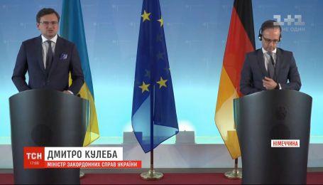 В Берлине обсуждают оккупированный Крым, Донбасс и незаконно заключенных украинцев