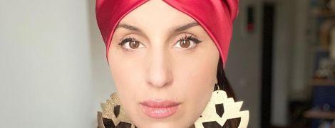 Селфи в тюрбане: Джамала показала фото в оригинальном головном уборе