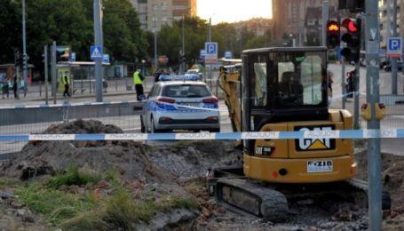 У центрі польського міста знайшли снаряд часів Другої світової війни