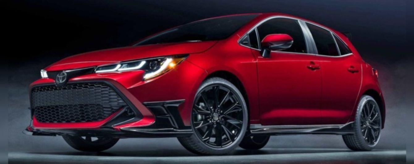 Toyota представила уникальную версию Corolla