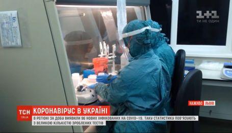 Более 90 новых инфицированных: с чем связано резкое повышение больных во Львовской области