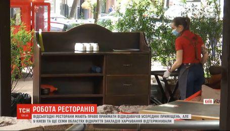 У Києві кафе та ресторани не запрацювали на повну силу – персонал розчарований