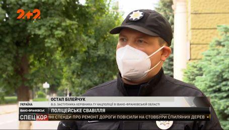 У Івану-Франківську працівники поліції знущалися над затриманими підлітками