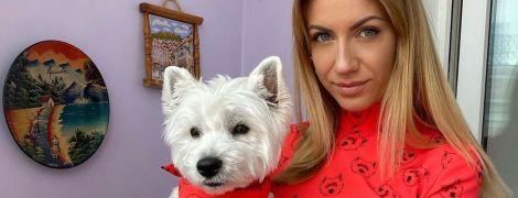 В эффектном красном платье: Леся Никитюк похвасталась новым луком