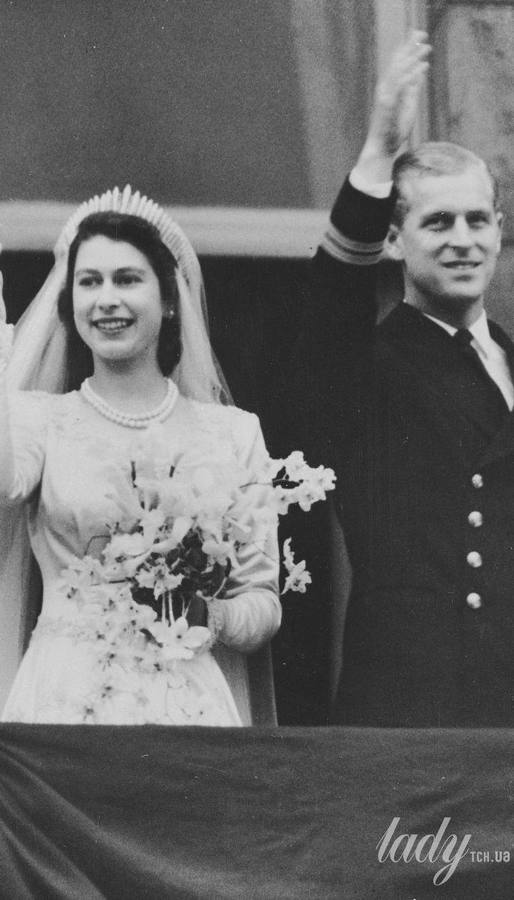 Принц Филипп и принцесса Елизавета