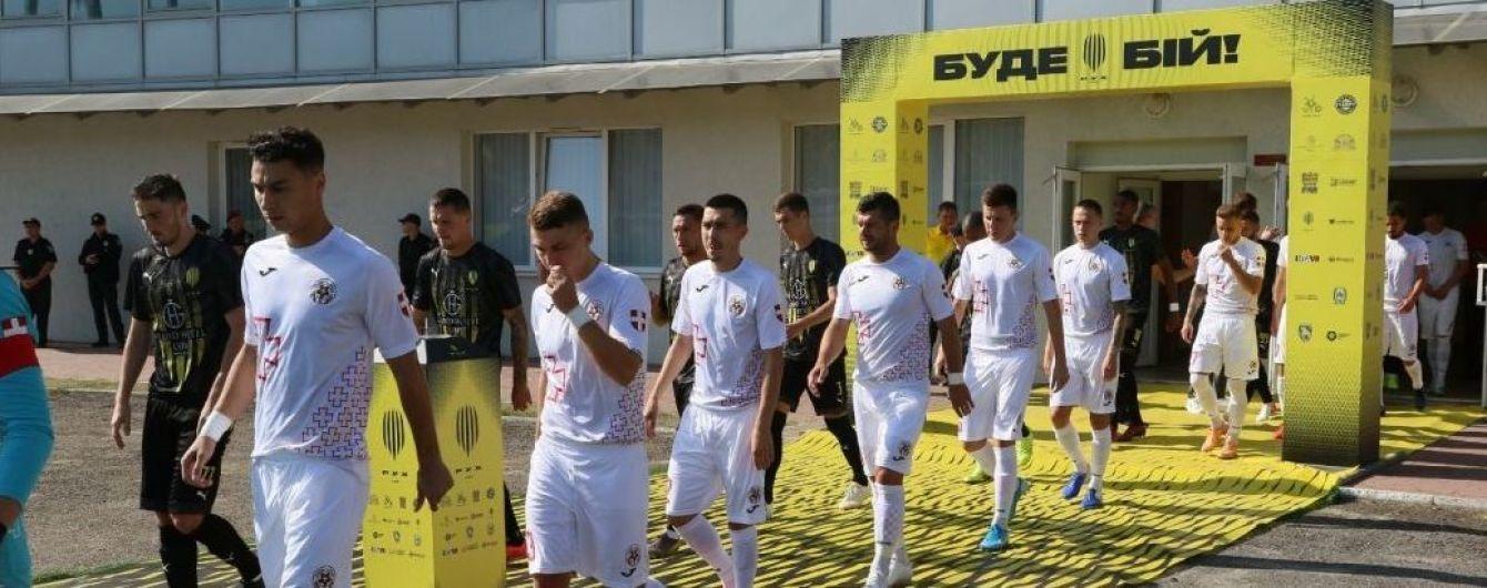 Три матчі Першої ліги України перенесено через коронавірус