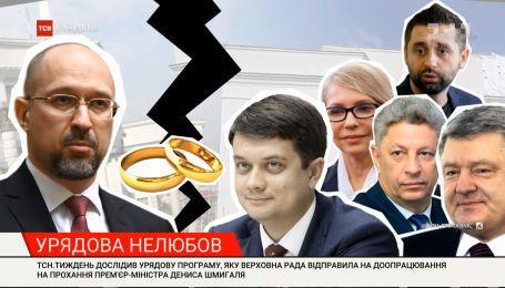 Денис Шмигаль попросив парламент відправити його економічний план на доопрацювання