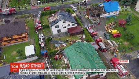 Непогода в Европе: ливни и штормы натворили бед в Чехии и в Польше