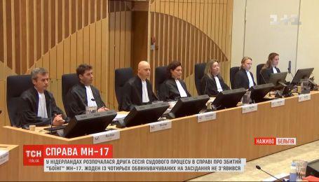 В Нидерландах возобновился суд по делу о сбитом Боинге в небе над Донбассом