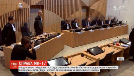 """У Нідерландах продовжується суд у справі про збитий """"Боїнг"""" у небі над Донбасом"""