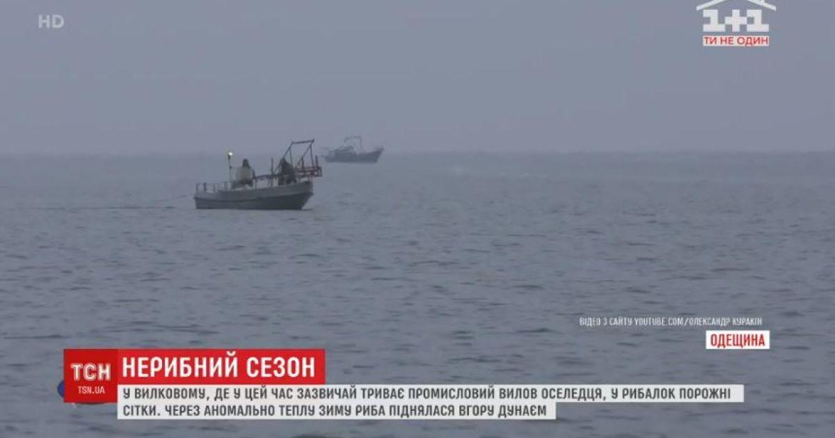 Погода проти рибалок: в Одеській області залишились без промислового вилову оселедця