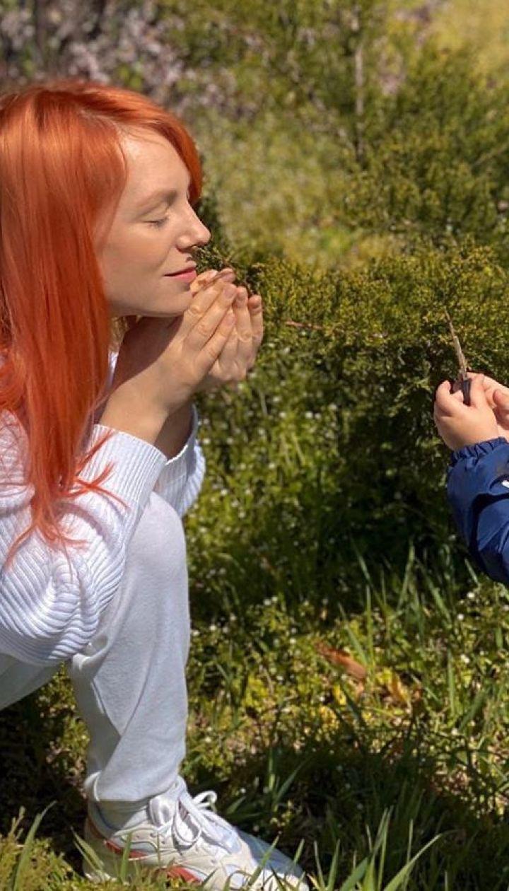 Светлана Тарабарова с сыном Иваном