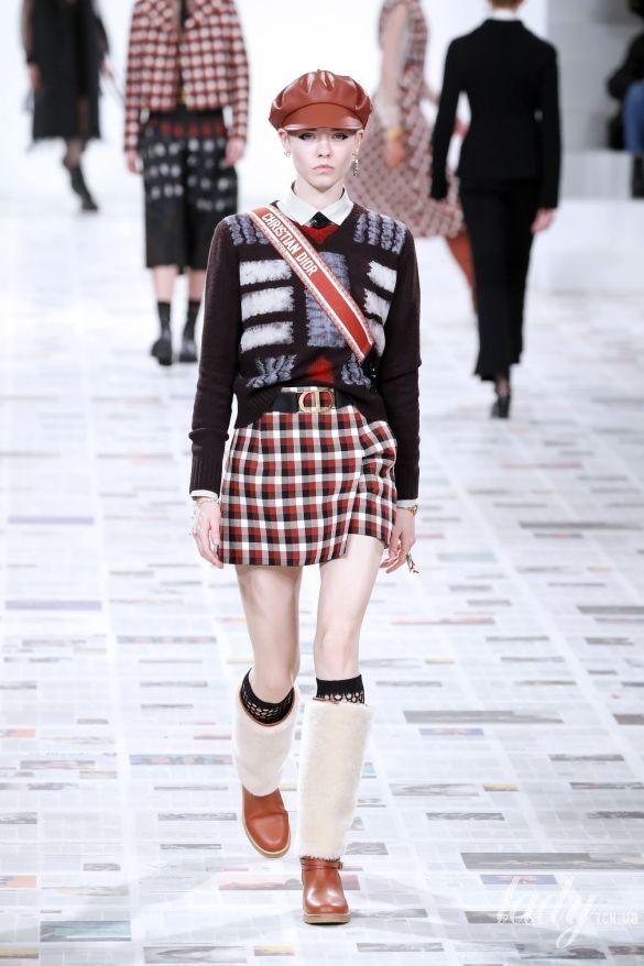 Коллекция Christian Dior прет-а-порте сезона осень-зима 2020-2021_12