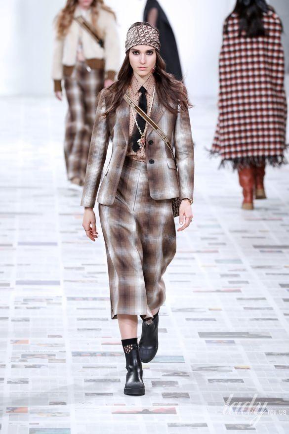 Коллекция Christian Dior прет-а-порте сезона осень-зима 2020-2021_19