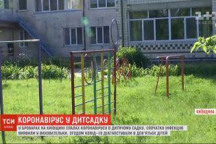Вспышка COVID-19 в Броварах: детсад закрыли и обследуют весь персонал