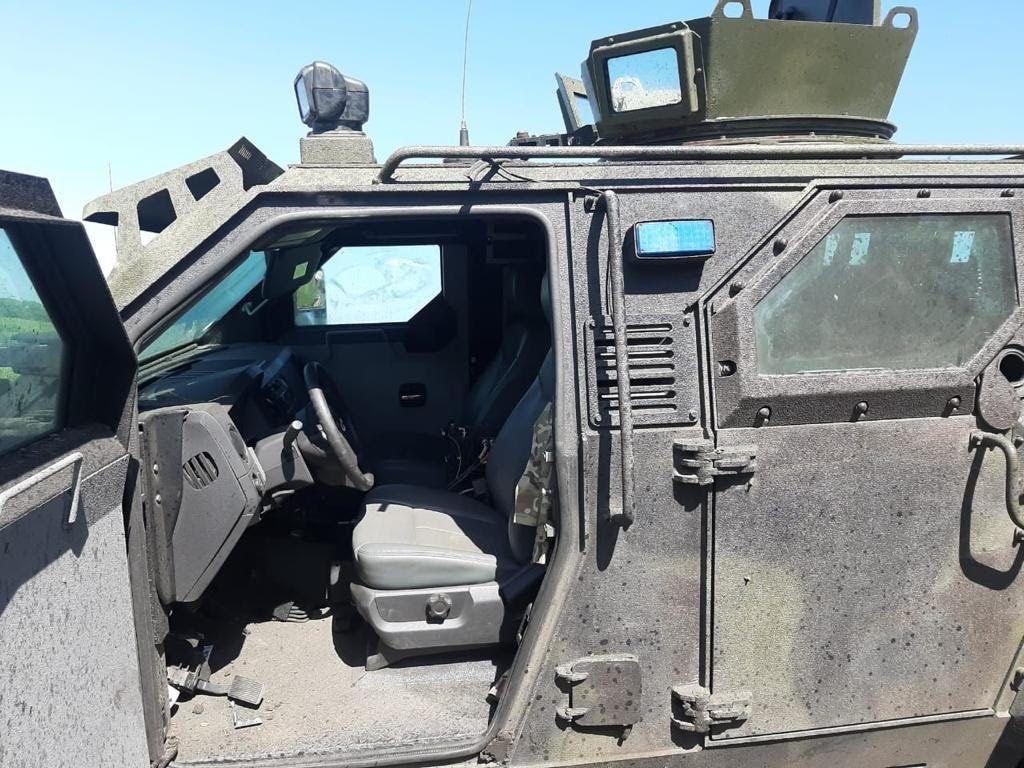 В Авдеевке подорвался автомобиль ВСУ вместе с военными