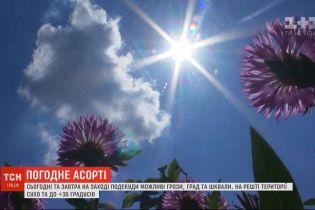 Погода в Украине: на западе предупреждают об осадках, на остальной территории - летняя жара