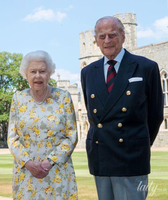 Герцог Эдинбургский Филипп и королева Елизавета II