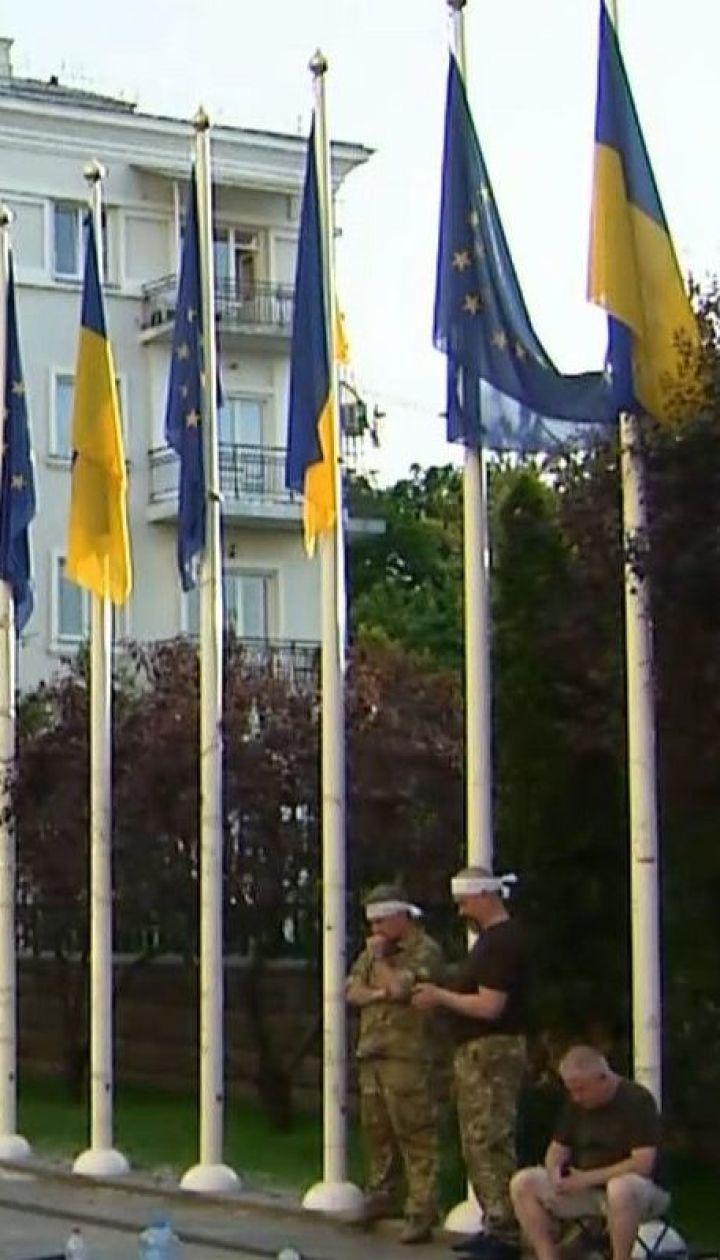 Безстрокове голодування під Офісом президента оголосили побратими Віталія Олешка